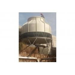 云南昆明富民县200T冷却塔工程案例
