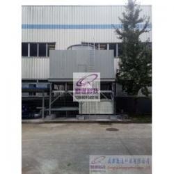 成都郫县犀浦200T横流冷却塔工程案例