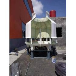 贵州盘县150T冷却塔安装现场