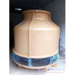 四川德阳广汉60T圆形冷却塔陕西工程案例