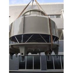 简阳GL-200T冷却塔,100T旧塔维修现场