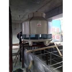 德阳125T冷却塔工程案例,使用单位:四川鸿林化工有限公司,订购单位,四川金福达贸易有限公司