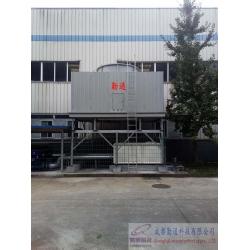 陕西方形横流式玻璃钢冷却塔