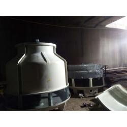 成都华阳80T圆形冷却塔工程案例