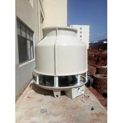 云南玉溪两台60T圆形冷却塔工程案例