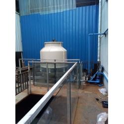 成都温江海峡工业园40T冷却塔工程案例